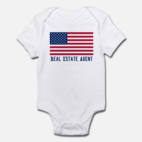 Ameircan Real Estate Agent Infant Bodysuit