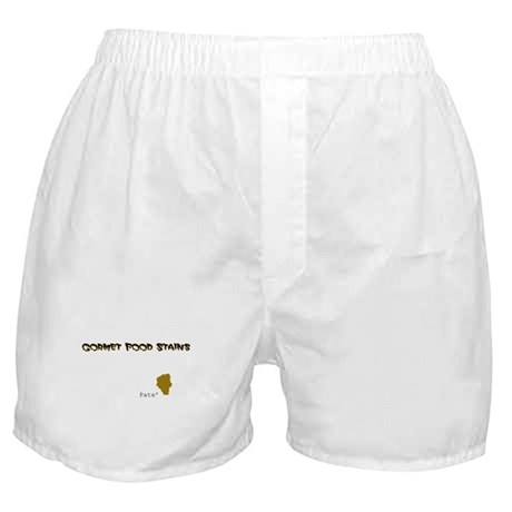 Gourmet Food Stains Boxer Shorts