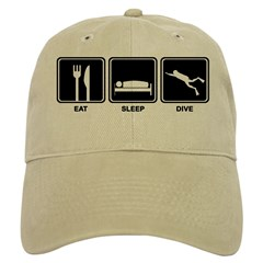 http://i3.cpcache.com/product/187889826/eat_sleep_dive_baseball_cap.jpg?color=Khaki&height=240&width=240
