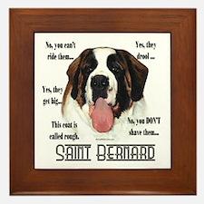 Saint(rough)FAQ Framed Tile