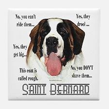 Saint(rough)FAQ Tile Coaster