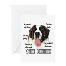 Saint(rough)FAQ Greeting Card