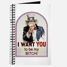 Be My Bitch Journal