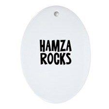 Hamza Rocks Oval Ornament