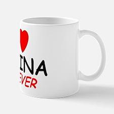 I Love Melina Forever - Mug