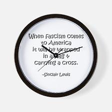 Fascism Wall Clock