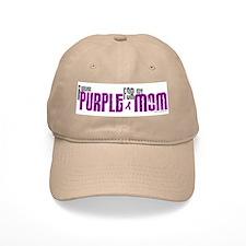 I Wear Purple For My Mom 6 (PC) Baseball Cap