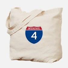 Interstate 4 Tote Bag