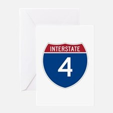 Interstate 4 Greeting Card