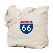 Interstate Route 66 Tote Bag