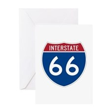 Interstate Route 66 Greeting Card