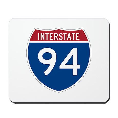 Interstate 94 Mousepad
