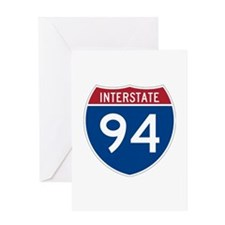 Interstate 94 Greeting Card