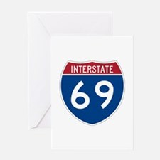 Interstate 69 Greeting Card