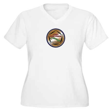 JTF Guantanamo Women's Plus Size V-Neck T-Shirt