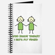 Therapy For Friends Journal