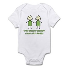 Therapy For Friends Infant Bodysuit