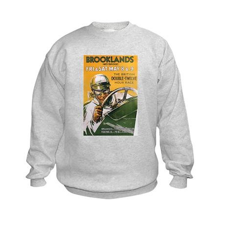 Brooklands Gran Prix Poster Kids Sweatshirt
