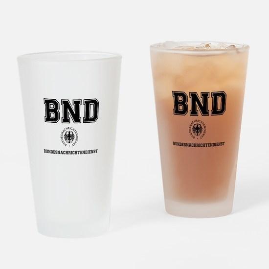 BND - GERMAN SPY AGENCY - Drinking Glass