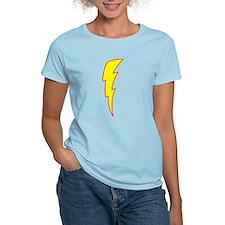 Lightning Bolt Women's Pink T-Shirt