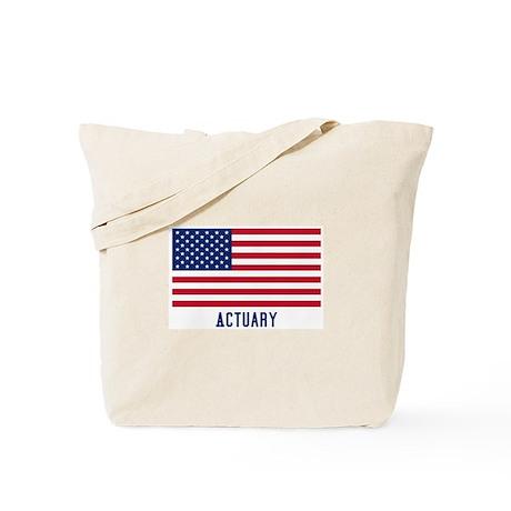 Ameircan Actuary Tote Bag