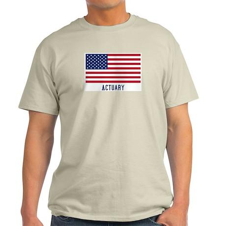 Ameircan Actuary Light T-Shirt