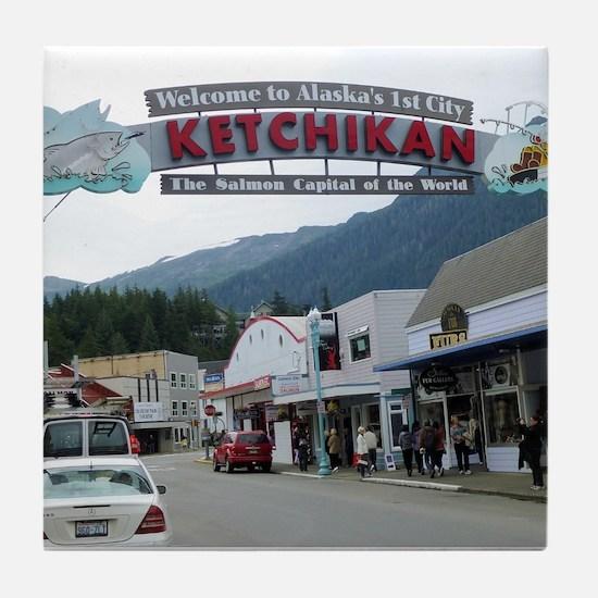 Ketchikan Tile Coaster