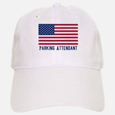 Ameircan Parking Attendant Baseball Baseball Cap