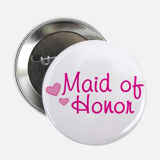 """Maid Of Honor 2.25"""" Button"""