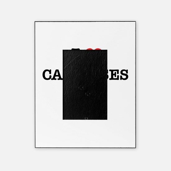 I Love CAMPUSES Picture Frame