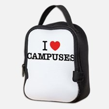 I Love CAMPUSES Neoprene Lunch Bag