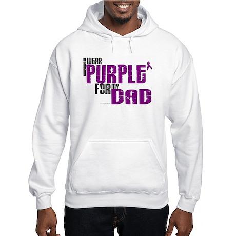 I Wear Purple For My Dad 6 (PC) Hooded Sweatshirt