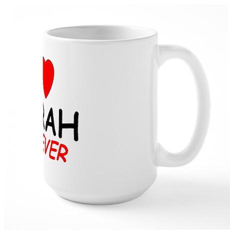I Love Norah Forever - Large Mug