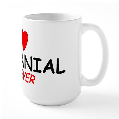 I Love Nathanial Forever - Large Mug