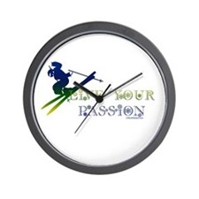 LIVE YOUR PASSION Wall Clock