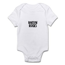 Hanson Rocks Infant Bodysuit