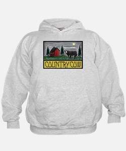 Country Cow Hoodie