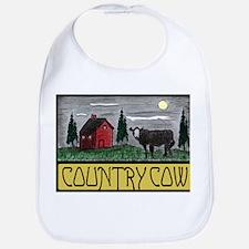 Country Cow Bib