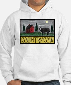 Country Cow Jumper Hoody