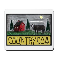 Country Cow Mousepad