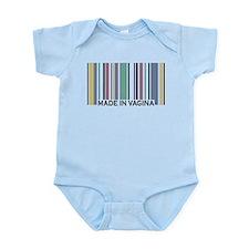 Made In Vagina Infant Bodysuit
