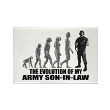 Evolution of my Army Son-n-Law Rectangle Magnet