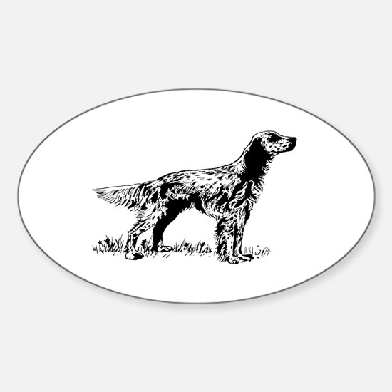 English Setter Decal