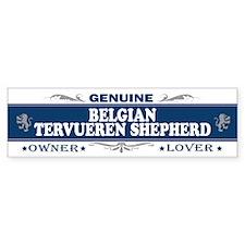 BELGIAN TERVUEREN SHEPHERD Bumper Bumper Sticker