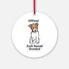 JR Grandad Ornament (Round)