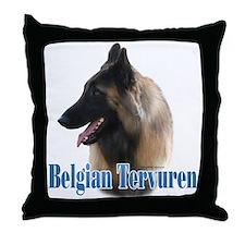 Tervuren Name Throw Pillow