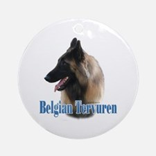Tervuren Name Ornament (Round)