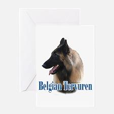 Tervuren Name Greeting Card