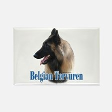 Tervuren Name Rectangle Magnet