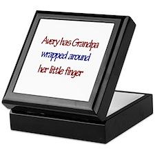 Avery - Grandpa Wrapped Aroun Keepsake Box